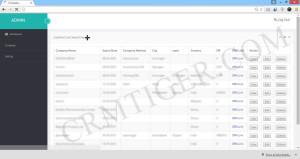 Multitanent-CRM-companylist