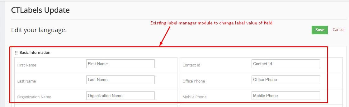 vTiger Label Manager Plugins Updates | vTiger Label Manager