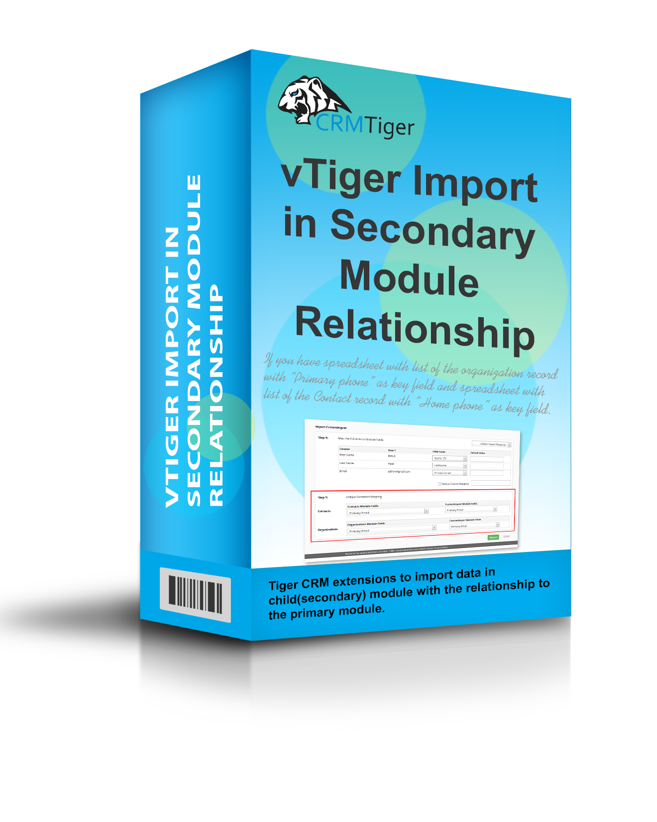 vTiger Import in Secondary Module Relationship