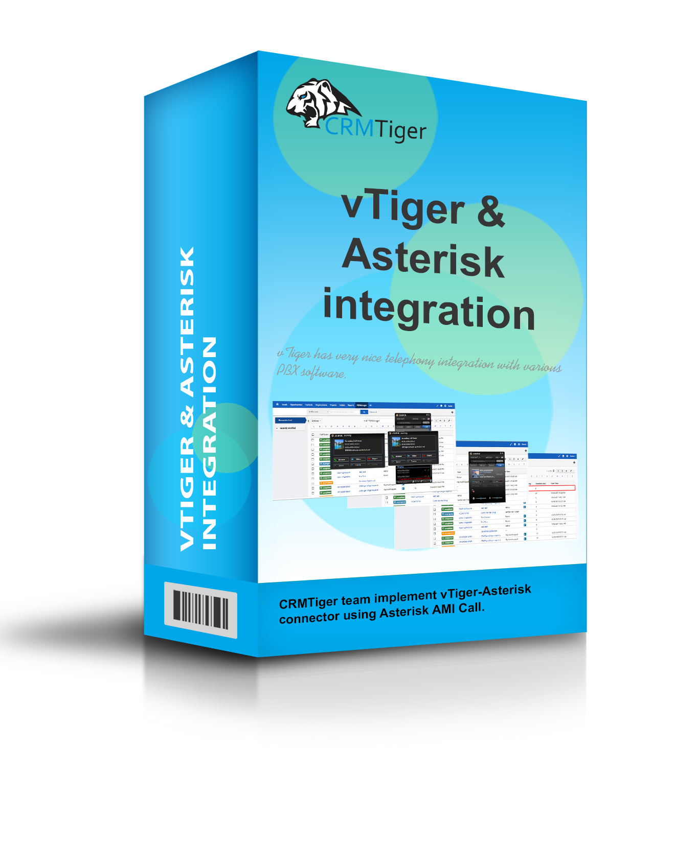 vTiger-Asterisk-integration