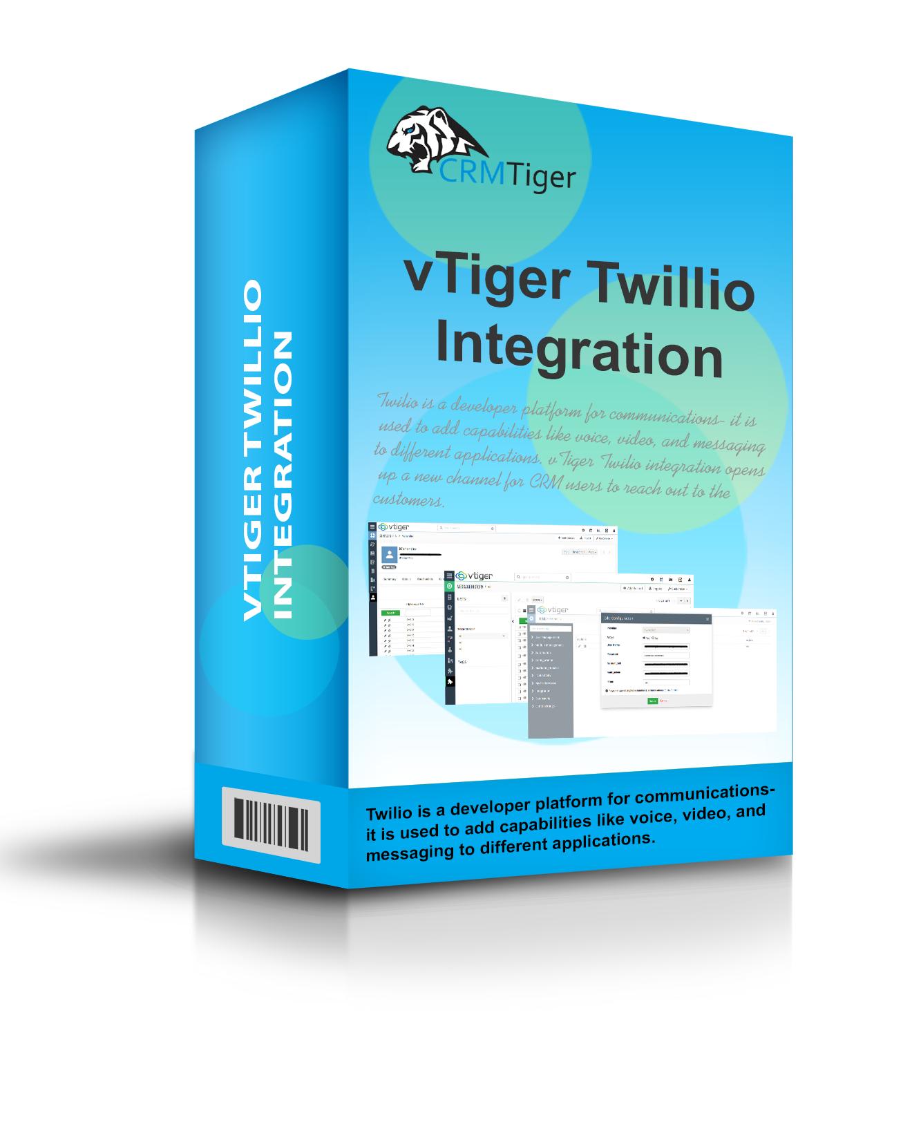 vTiger Twillio Integration